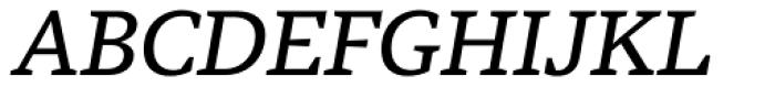 Tabac G4 Italic Font UPPERCASE