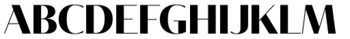 Tabac Glam G1 Bold Font UPPERCASE