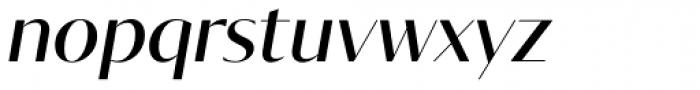Tabac Glam G1 Medium Italic Font LOWERCASE
