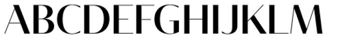 Tabac Glam G1 Medium Font UPPERCASE