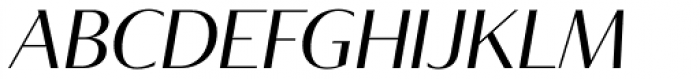 Tabac Glam G2 Italic Font UPPERCASE