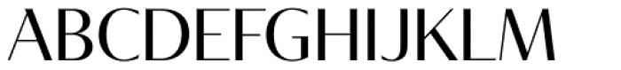 Tabac Glam G2 Regular Font UPPERCASE