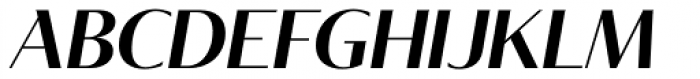 Tabac Glam G2 Semi Bold Italic Font UPPERCASE