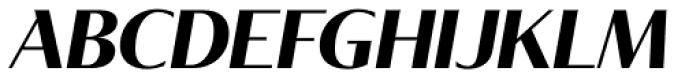 Tabac Glam G3 Bold Italic Font UPPERCASE