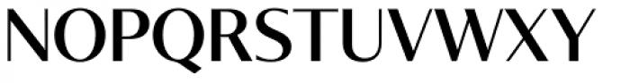 Tabac Glam G3 Medium Font UPPERCASE
