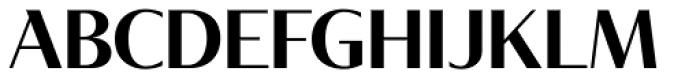 Tabac Glam G3 Semi Bold Font UPPERCASE