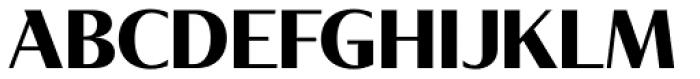 Tabac Glam G4 Bold Font UPPERCASE