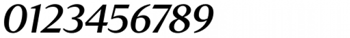 Tabac Glam G4 Medium Italic Font OTHER CHARS