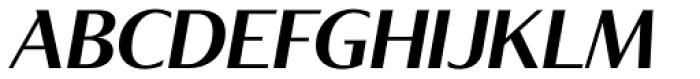 Tabac Glam G4 Semi Bold Italic Font UPPERCASE