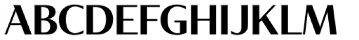 Tabac Glam G4 Semi Bold Font UPPERCASE
