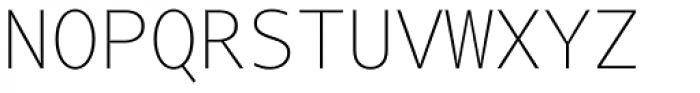 Tabac Mono Thin Font UPPERCASE