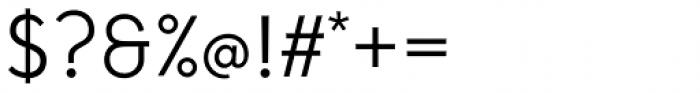Tabela Light Font OTHER CHARS
