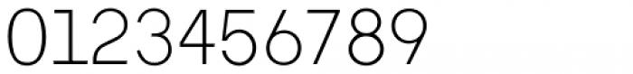 Tabela Ultra Light Font OTHER CHARS