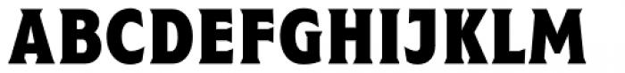 Taberna Serif Black Font UPPERCASE