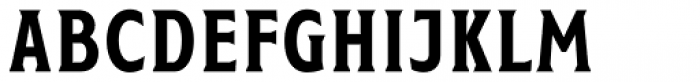 Taberna Serif Regular Font UPPERCASE