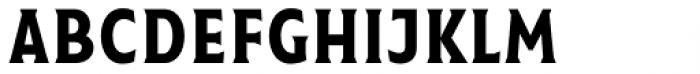 Taberna Serif Regular Font LOWERCASE