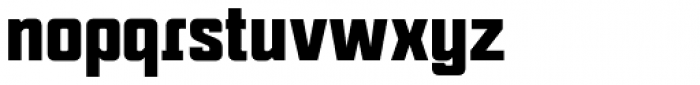 Tabia ExtraBold Font LOWERCASE