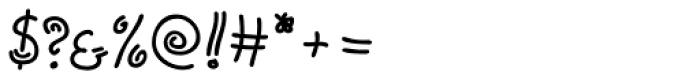 Tabita BT Regular Font OTHER CHARS