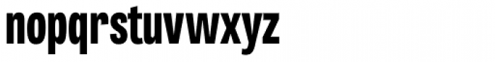 Tablet Gothic Compressed ExtraBold Font LOWERCASE