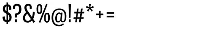 Tablet Gothic Compressed Regular Font OTHER CHARS