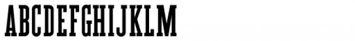 Tabloid News Regular Font UPPERCASE