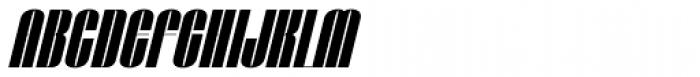 Taboo Bold Italic Font UPPERCASE