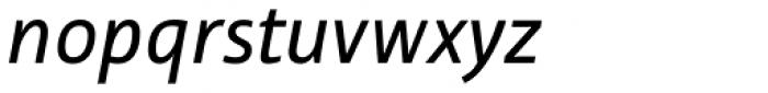 Tabula Std Book Italic Font LOWERCASE
