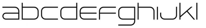 Tachyon Thin Font LOWERCASE