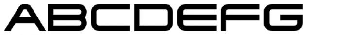 Tachyon Font UPPERCASE