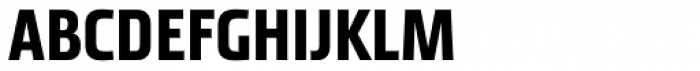 Tact New Semi Bold Font UPPERCASE