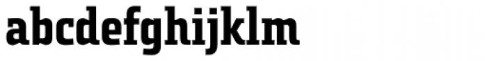 Tact Slab New Semi Bold Font LOWERCASE