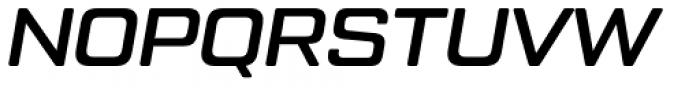 Tactic Round Medium Italic Font UPPERCASE