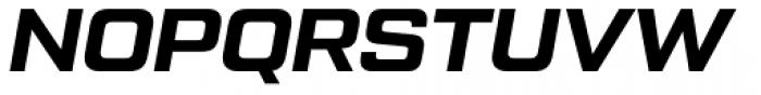 Tactic Sans Bold Italic Font UPPERCASE