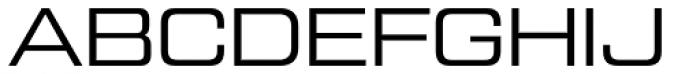 Tactic Sans Extended Regular Font UPPERCASE