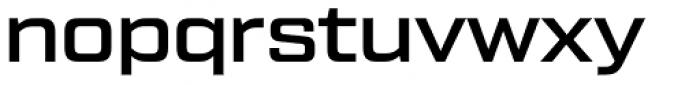 Tactic Sans Medium Font LOWERCASE