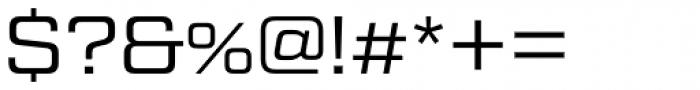 Tactic Sans Regular Font OTHER CHARS
