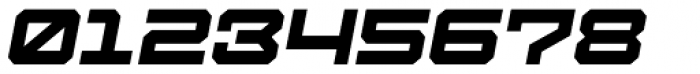 Tactical Oblique Font OTHER CHARS