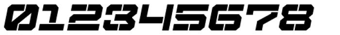 Tactical Stencil Oblique Font OTHER CHARS