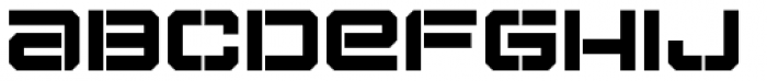 Tactical Stencil Font LOWERCASE