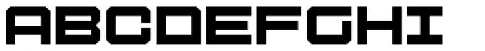 Tactical Font UPPERCASE