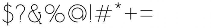 Tadaam Regular Font OTHER CHARS