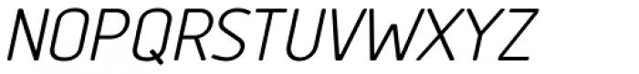 Tadao Italic Font UPPERCASE