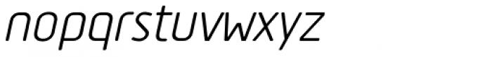 Tadao Italic Font LOWERCASE