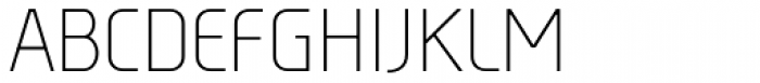 Tadao Light Font UPPERCASE