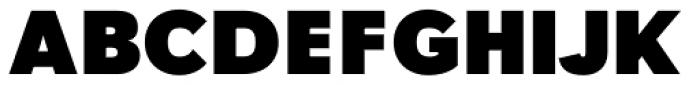 Tafel Sans BC Black Font UPPERCASE