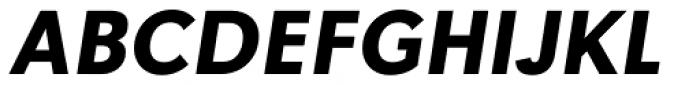 Tafel Sans BC Bold It Font UPPERCASE