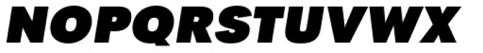 Tafel Sans PC Black It Font UPPERCASE
