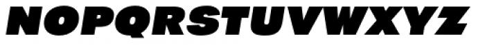 Tafel Sans PC Black It Font LOWERCASE