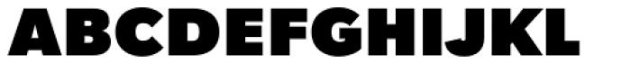 Tafel Sans PC Black Font UPPERCASE