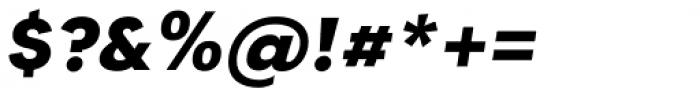 Tafel Sans PC Bold It Font OTHER CHARS